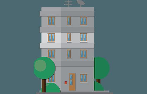 Symbol: Wohnung